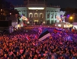 Public Viewing am Finaltag des 60. Song Contest am Rathausplatz