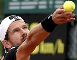 Jürgen Melzer bei den French Open in Paris
