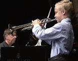 Junger Musiker