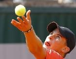 Dominic Thiem bei den French Open