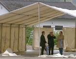 Zelte für Flüchtlinge, Kufstein