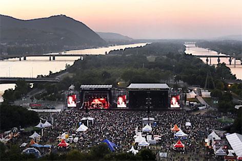 Übersicht Rock in Vienna