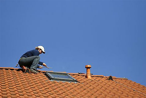 Dachdecker Handwerker