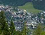 Blick auf Scharnitz