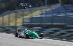 """Dreharbeiten zur Doku """"Formel Steiermark"""" am Red Bull Ring in Spielberg mit Drohne"""