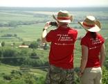 Wanderer der großen Burgenland Tour