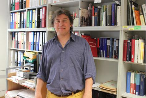 Markus Stumpf Leiter der Fachbereichsbibliothek Zeitgeschichte
