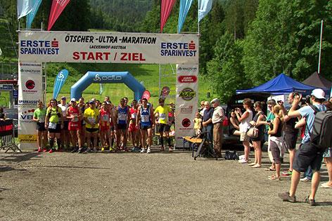 Ötscher Marathon Läufer