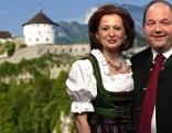 Rössl-Wirtin Renée Schüttengruber und Regisseure Gerald Pichowetz