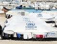 UNHCR-Flüchtlingscamp im jordanischen Al Zaatri nahe zur syrischen Grenze