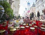 Trauer in Graz