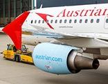 Flugzeug der Austrian