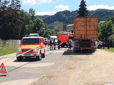Tödlicher Radunfall Südring Klagenfurt Lkw