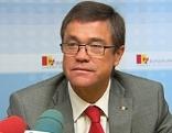 Der scheidende Landesrat Peter Rezar bei seiner letzten Pressekonferenz