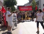Demonstration gegen Rot-Blau in Eisenstadt