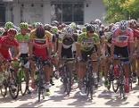 Radfahrer am Start