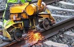 Gleisarbeiten der ÖBB