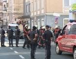 Polizei-Großeinsatz in der Gaswerkgasse
