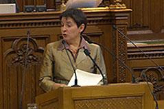 Sonja Wehsely im Gemeinderat