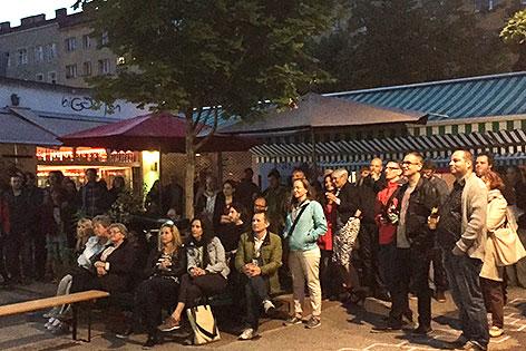 Film ab am Vorgartenmarkt