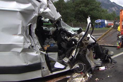 Tödlicher Unfall auf der Tauernautobahn