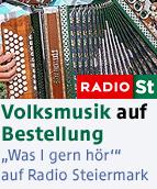 """Volksmusik auf Bestellung - """"Was I gern hör'"""" auf Radio Steiermark"""