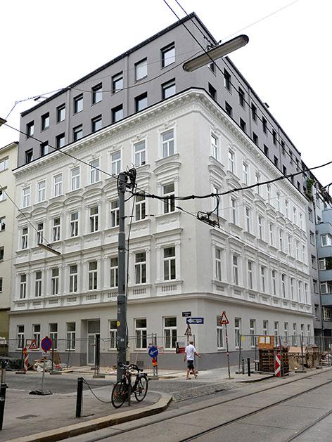 Haus Mühlfeldgasse 12 in Wien-Leopoldstadt
