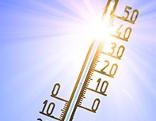 Thermometer zeigt fast 40 Grad Celcius