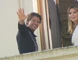Tom am Balkon