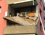 Balkon eingestürzt