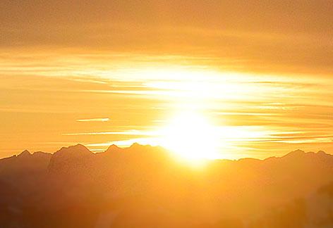 Sonnenaufgang Sonne Sunrise Sonnenuntergang Sunset