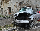 Unfall bei Hall