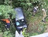 Fahrzeugbergung nach Unfall