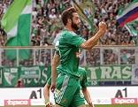 Thanos Petsos bei Salzburg gegen Rapid