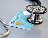 Stetoskop und E-Card