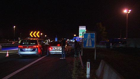 Polizeinsatz gegen Schlepper Nickelsdorf, Parndorf