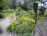 Der Kräutergarten in Anthering