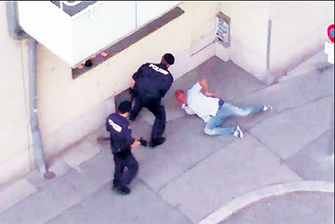 Video zeigt mutmaßlichen Polizeiübergriff