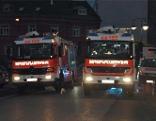 Brand in Linz Berufsfeuerwehr