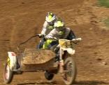 Motocross Weiss und Schneider