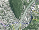 Pläne der Stadtregionalbahn durch das Zentrum von Salzburg