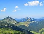 Wandern Sommerfrische Osterhornberge Alm Gruberalm Genneralmen Gennerhorn