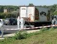 Abgestellter LKW auf der A4-Ostautobahn