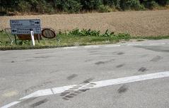 Motorradfahrer landete in Lkw