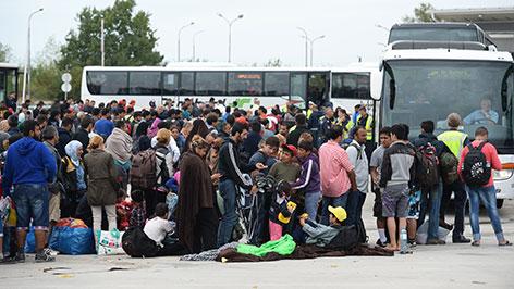 Flüchtlinge Nickelsdorf