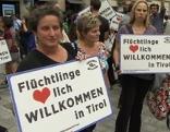 Demo für Flüchtlinge