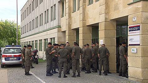 Bundesheer beginnt Assistenzeinsatz im Burgenland