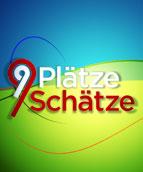 Logo 9 Plätze, 9 Schätze