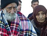 Asylkrise syrische Flüchtlinge Saalachbrücke