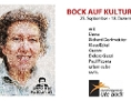 "Benefiz-Festival ""Bock auf Kultur"""
